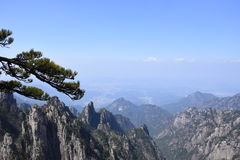 One Of Huangshan stock photo