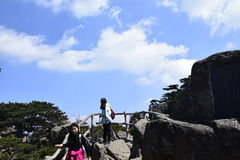 One Of Huangshan stock photography