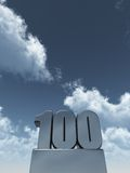 One hundred Stock Photos