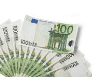 One hundred banknotes Stock Photos