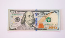 One hundred dollar banknote Royalty Free Stock Images