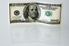One hundred dollar bill Stock Images