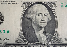 One hundred dollar bill close up. Money background Royalty Free Stock Images