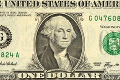 One hundred dollar bill close up. Money. Background Stock Photography