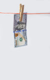 One Hundred Dollar Bill Royalty Free Stock Photos