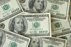 One Hundred Dollar Bills royalty free stock image
