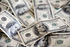 One Hundred Dollar Bills. One Hundred American Dollar Bills Royalty Free Stock Photo