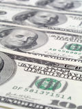 One Hundred Dollar Bills Royalty Free Stock Images