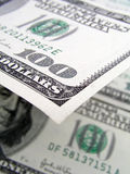 One Hundred Dollar Bills Stock Photo