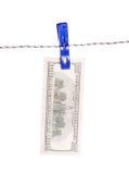 One hundred dollar Stock Photo