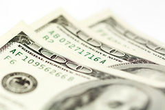 One hundred dollar bills- stock image Royalty Free Stock Images
