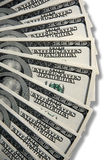 One Hundred Dollar Bills U.S. Royalty Free Stock Photography