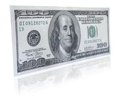One hundred dollar note Royalty Free Stock Photos