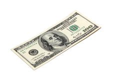 One hundred dollars Royalty Free Stock Photo