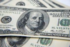 One Hundred Dollars Stock Image