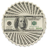 One hundred dollars Royalty Free Stock Photography