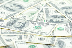 One hundred dollars of America. Royalty Free Stock Photography