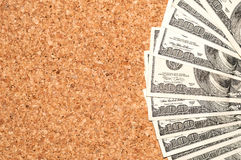 One hundred dollars background. Stock Photo