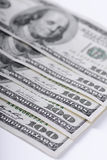 One hundred dollars banknotes Stock Image