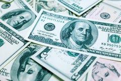 One hundred dollars bills background. Texture Stock Photos