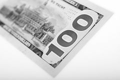 One Hundred Dollars Stock Photography