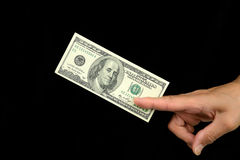 One hundred dollars Royalty Free Stock Image