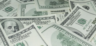 One hundred Dollars Money Royalty Free Stock Photo