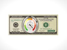 One hundred dollars - United States currency - fast money loan concept Royalty Free Stock Photo