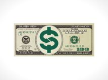 One hundred dollars - United States currency - money transfer concept Royalty Free Stock Images