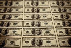 One hundred dollars US Stock Photo