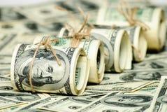 One hundred dollars US Stock Image