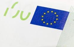 One hundred euro close-up Stock Image