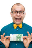 One hundred euros Royalty Free Stock Images