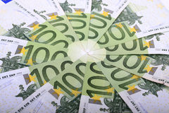 One hundred euros Royalty Free Stock Photos
