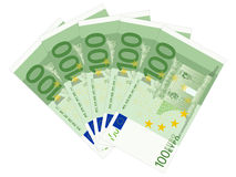 One hundred euros Stock Photography