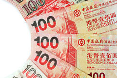 One Hundred Hong Kong Dollars Stock Photo