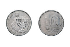 One Hundred old shekels 1980-85 Royalty Free Stock Image