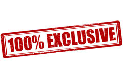 One hundred percent exclusive Stock Images