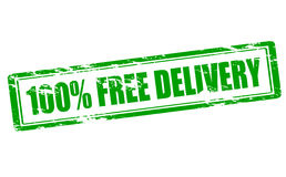 One hundred percent free delivery Royalty Free Stock Image