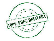 One hundred percent free delivery Stock Photos