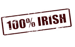 One hundred percent Irish Royalty Free Stock Images