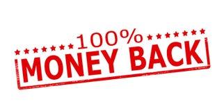 One hundred percent money back Royalty Free Stock Photos
