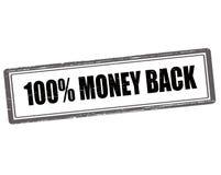 One hundred percent money back Royalty Free Stock Image