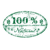 One hundred percent natural Royalty Free Stock Photography