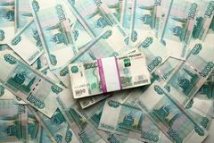 One hundred rubles banknote Stock Photography