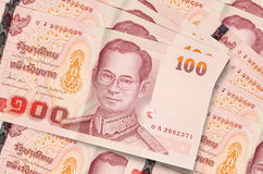 One hundred thaibaht Stock Photo