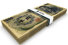 One Hundred Thousand Yen Royalty Free Stock Photos