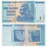 One Hundred Trillion Dollars Stock Photo