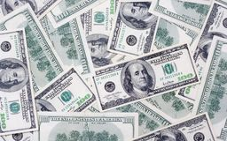 One hundred US dolars Royalty Free Stock Photos