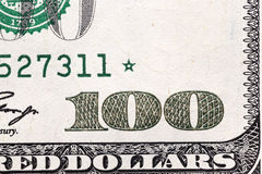 One hundred US dollars Stock Image